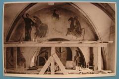 Aad-de-Haas-Op-de-steiger-in-de-kerk-in-Wahlwiller-1947-1948