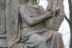Amsterdam-033-Vondelpark-Monument-Vondel-detail