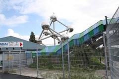Brussel-0691-Trambanen-bij-Atomium