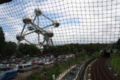 Brussel-0693-Trambanen-en-spoorweg-bij-Atomium
