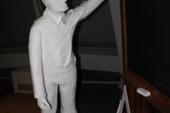 Brussel-0609-Atomium-Kunstwerk-van-schoolkinderen-en-meester
