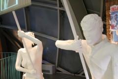 Brussel-0623-Atomium-Kunstwerk-van-demonstratie