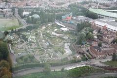 Brussel-0547-Atomium-Uitzicht-op-Mini-Europe