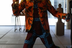 Yinka-Shonibare-2012-Revolution-Kid-Fox-1