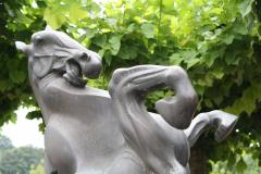 Gulpen-Sculptuur-Steigerend-Paard-5-detail
