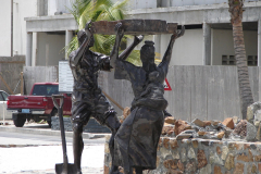 St.-Maarten-1263-Philipsburg-Slavenstandbeeld