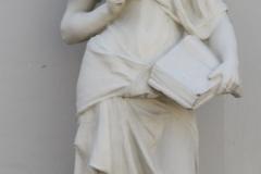 Vrouwe met boek en pen