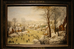 Pieter-Brueghel-de-Jonge-1631-Winterlandschap-met-vogelval
