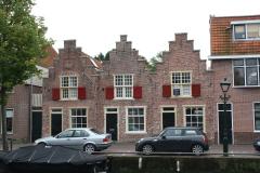Alkmaar-Oudegracht-Drie-trapgevels-naast-elkaar
