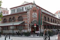 Brussel-1300-De-Hallen-aan-het-Sint-Goriksplein