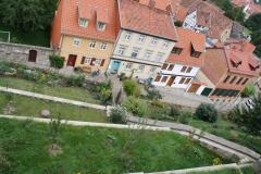Harz-Quedlinburg-021-Schloss-Quedlinburg-Voor-de-kasteelmuur