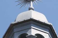 Haarlem-1105-Gebouw-met-zon-op-torentje-in-Berkenrodesteeg