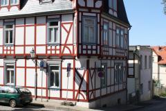 Harz-Wernigerode-120-Unter-dem-Kuchengarten-Vakwerkhuis