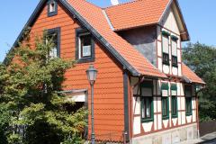 Harz-Wernigerode-121-Vakwerkhuis-met-oranje-leien