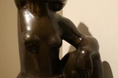 Museum-Jan-Cunen-099-John-Rädecker-Zittend-Vrouwelijk-Naakt