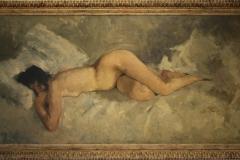 Museum-Jan-Cunen-110-George-Hendrik-Breitner-ca-1887-Liggend-Naakt
