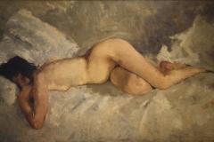 Museum-Jan-Cunen-111-George-Hendrik-Breitner-ca-1887-Liggend-Naakt