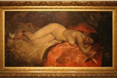 Museum-Jan-Cunen-181-George-Hendrik-Breitner-ca-1887-Liggend-Naakt