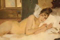Museum-Jan-Cunen-155-Isaac-Israels-ca-1917-Liggend-Naakt-detail