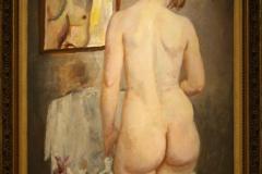 Museum-Jan-Cunen-095-Jan-Sluijters-ca-1920-Vrouwelijk-Naakt-Voor-De-Spiegel
