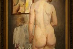 Museum-Jan-Cunen-096-Jan-Sluijters-ca-1920-Vrouwelijk-Naakt-Voor-De-Spiegel
