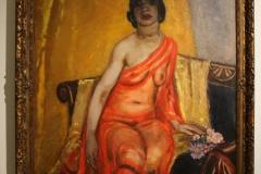 Museum-Jan-Cunen-137-Jan-Sluijters-1922-Portret-van-Tonia-Stieltjes-Oorspronkelijk-Negerin-met-de-rode-sjaal
