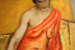 Museum-Jan-Cunen-138-Jan-Sluijters-1922-Portret-van-Tonia-Stieltjes-Oorspronkelijk-Negerin-met-de-rode-sjaal