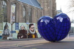 Delft-128-Sculptuur-Het-Blauwe-Hart-door-Marcel-Smink