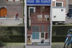 Delft-284-Telefooncel-Voor-De-Kunst-met-Het-Straatje-van-Vermeer