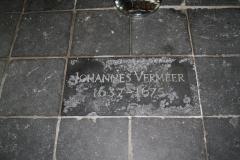 Delft-Oude-Kerk-057-Grafsteen-Johannes-Vermeer