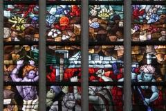 2016-04-08-Delft-Oude-Kerk-040-Raam-Uitdrijving-uit-paradijs-en-eerste-broedermoord-detail