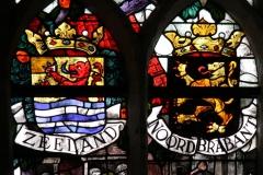 2016-04-08-Delft-Oude-Kerk-123-Wilhelminaraam-detail-Wapens-Zeeland-en-Noord-Brabant
