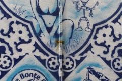 Delft-031-Delfts-blauwe-muurschildering-in-Bonte-Ossteeg