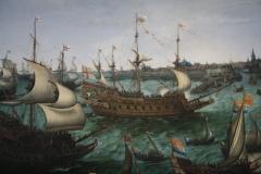 Hendrik-Cornelsz-Vroom-1623-Aankomst-van-Frederik-V-vd-Palts-te-Vlissingen-2-detail