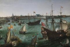 Hendrik-Cornelsz-Vroom-1623-Aankomst-van-Frederik-V-vd-Palts-te-Vlissingen-3-detail