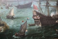 Hendrik-Cornelsz-Vroom-1623-Aankomst-van-Frederik-V-vd-Palts-te-Vlissingen-4-detail