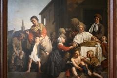 Jan-de-Bray-1663-Opname-van-kinderen-in-het-Armekinderhuis