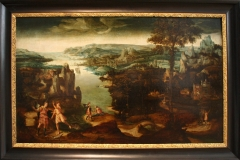 Rivierlandschap-met-voorstellingen-uit-het-verhaal-van-Tobias-16e-eeuw