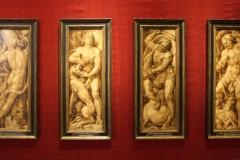 Maerten-van-Heemskerck-4-panelen-van-een-12-delige-serie-met-voorstelingen-van-sterke-mannen