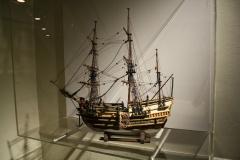 Model-Driemaster-DBeschermer-van-het-Schonenvaardersgilde-in-Haarlem-ca-1580-1