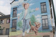 Brussel-2014-0803-Muurschildering-bij-Koninklijk-Parklaan