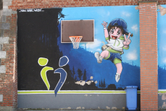 Sint-Truiden-321-Muurschildering-op-speelplaats-bij-school