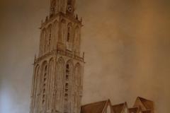 Groningen-056-Muurschildering-Martinitoren-in-De-Kosterij