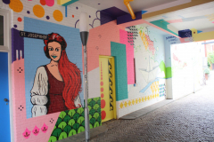 Nijmegen-151-Muurschildering-bij-St.Josephhof