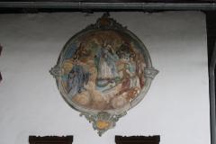 Oostenrijk-Bramberg-Muurschildering