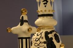 Groninger Museum 316 Jaime Hayon - 2009 - The Tournament [koningin en koning]