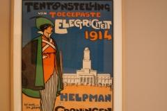 Groninger Museum 089 Willy Sluiter - 1914 - Poster Tentoonstelling Elektriciteit