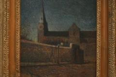 Groninger Museum 122 Paul Gauguin - 1881 - De Kerk van Vaugirard