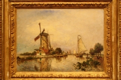Groninger Museum 136 Johan Barthold Jongkind - 1869 - Bij Overschie