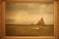 Groninger Museum 146 Willem Bastiaan Tholen - 1909 ca - Platbodem op de Zuiderzee